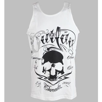potkošulja muška Outlaw Threadz - Tattoo - Bijelo, OUTLAW THREADZ