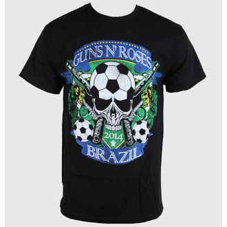 Majica muška Guns N' Roses - Brazil Šalica - Crno - BRAVADO, BRAVADO, Guns N' Roses
