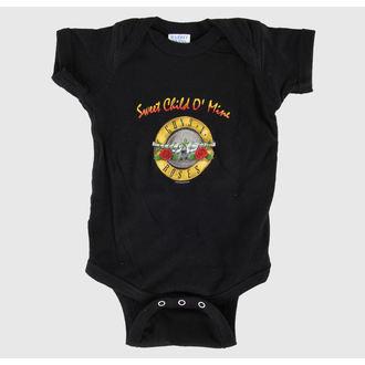 Dječji bodi Guns N' Roses - Sladak Dijete - Crno - BRAVADO, BRAVADO, Guns N' Roses