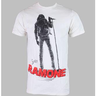 Majica muška JOEY Ramone - SILHOUETTE - Creme - BRAVADO, BRAVADO, Ramones