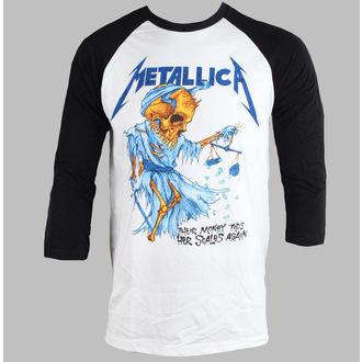 Majica muška Metallica - Novac Scatles - Bijelo - BRAVADO - MET2106
