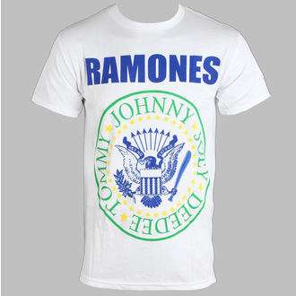 Majica muška Ramones - Nogomet - Bijelo - BRAVADO, BRAVADO, Ramones