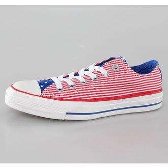 cipele CONVERSE - Chuck Taylor All Star - Crvena / Bijelo / Plavo, CONVERSE