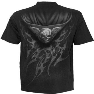 Majica muška SPIRAL - UNZIPPED - Crno - TR373600