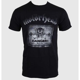 Majica muška Motörhead - Danger - Crno - ROCK OFF, ROCK OFF, Motörhead