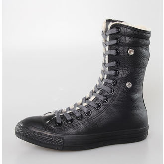 Cipele ženske zimske CONVERSE - Chuck Taylor All Star Koljeno-Hi - Crno, CONVERSE