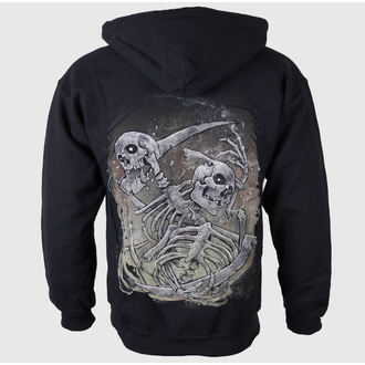 hoodie muški Thread Signal - Logo-Grind - Crno - JSR, Just Say Rock, Threat Signal