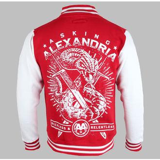 hoodie muški Asking Alexandria - Snake (Univerzitet) - PLASTIC HEAD, PLASTIC HEAD, Asking Alexandria