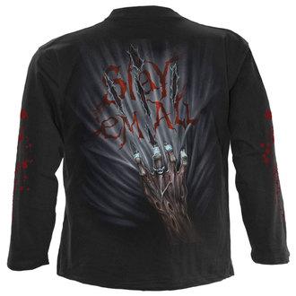 Majica muška dugi rukav SPIRAL - ZOMBIE KILLER - Crno