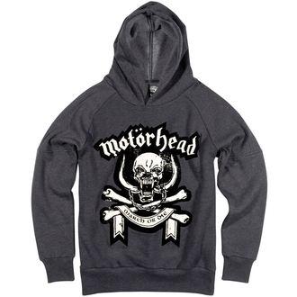 hoodie muški Motörhead - Marl - AMPLIFIED - Mrak Siva, AMPLIFIED, Motörhead
