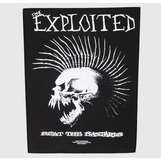 Zakrpa velika The Exploited - Beat The Bastards - RAZAMATAZ, RAZAMATAZ, Exploited