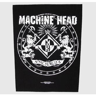 Zakrpa velika Machine Head - Grb - RAZAMATAZ, RAZAMATAZ, Machine Head