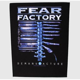 Zakrpa velika Fear Factory - Demanufacture - RAZAMATAZ, RAZAMATAZ, Fear Factory