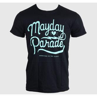 Majica muška MAYDAY PARADE - SCRIPT -Crno - LIVE NATION, LIVE NATION, Mayday Parade
