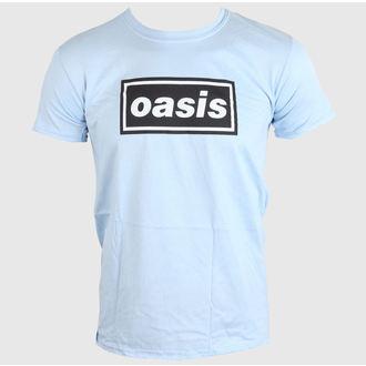 Majica muška OASIS - DEFINITELY MAYBE - SKY PLAVA - LIVE NATION, LIVE NATION, Oasis