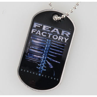 Identifikacijska pločica (dog tag) Fear Factory - Demanufacture - RAZAMATAZ, RAZAMATAZ, Fear Factory