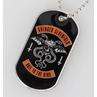 Identifikacijska pločica (dog tag) Avenged Sevenfold - Biker - RAZAMATAZ, RAZAMATAZ, Avenged Sevenfold