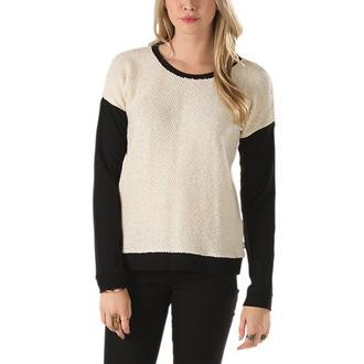 džemper ženski Vans - Clockwork Posada - Creme, VANS