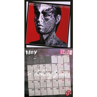 kalendar 2015 ROLLING STONES, Rolling Stones