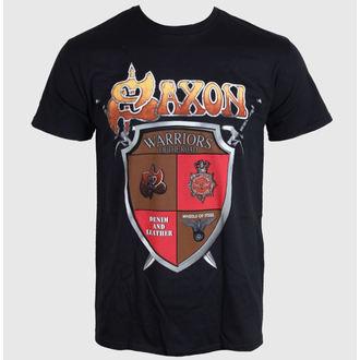 Majica muška SAXON - ANNIVERSARY - Crno - LIVE NATION, LIVE NATION, Saxon