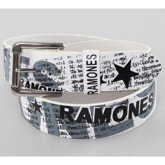 Pojas Ramones - Bijelo - BIOWORLD, BIOWORLD