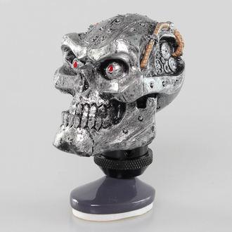 Ukras (glava zupčanik poluge) LETHAL THREAT - Cyborg Skull Shift Knob/Dash Gornji dio, LETHAL THREAT