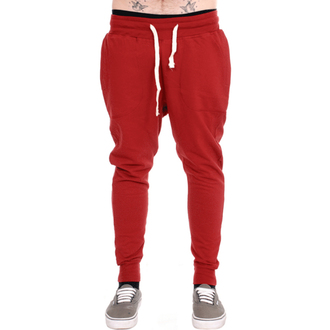 hlače unisex (trenirka) 3RDAND56th - Carrot Fit Jogger - Claret, 3RDAND56th