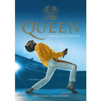 Kalendar za godinu 2019. QUEEN, NNM, Queen
