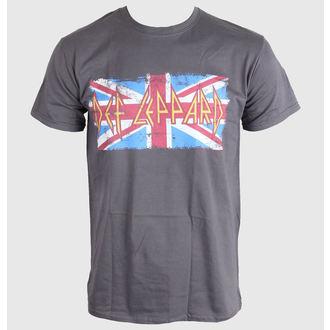 Majica muška Def Leppard - Union Jack - LIVE NATION, LIVE NATION, Def Leppard