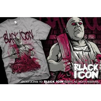 Majica muška Crno IKONA - Siva, BLACK ICON