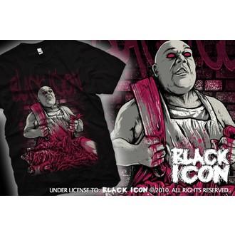 Majica muška Crno IKONA - Crno, BLACK ICON