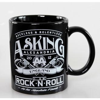 Šalica Asking Alexandria - Rock N Kotrljati - ROCK OFF, ROCK OFF, Asking Alexandria