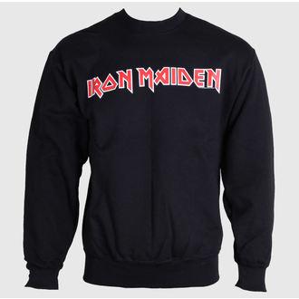 hoodie muški Iron Maiden - Logo - ROCK OFF, ROCK OFF, Iron Maiden