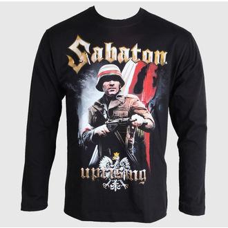 Majica muška dugi rukav Sabaton - Ustanak - Crno - Carton, CARTON, Sabaton