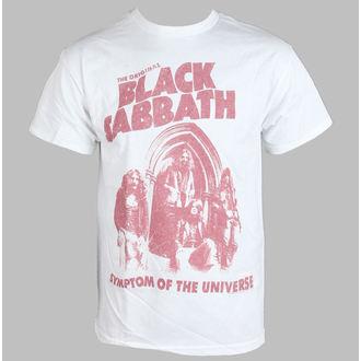 Majica muška Black Sabbath - Symptom Od The Universe - Bijelo - BRAVADO, BRAVADO, Black Sabbath