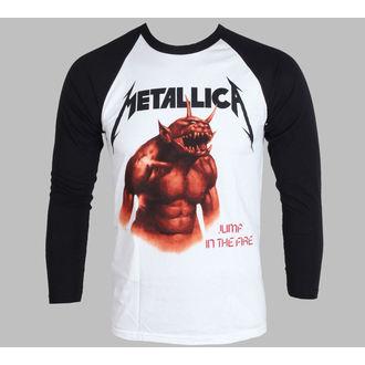 Majica muška dugi rukav Metallica - Skok U The Fire - Bijelo - LIVE NATION - PEMTL078