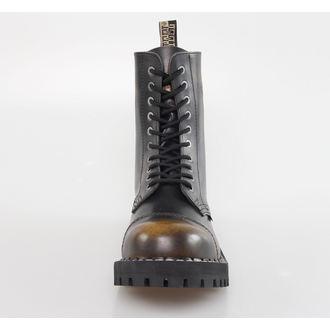 cipele ČELIK - 10 pinhole - Žuta / crna, STEEL