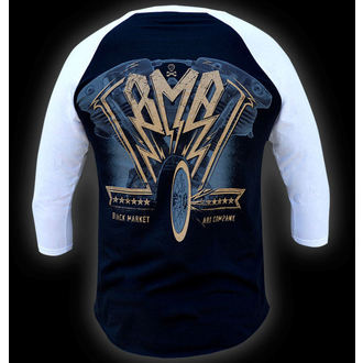 Majica muška sa 3/4 rukavom BLACK MARKET - Ian McNiel - American Željezo Baseball, BLACK MARKET