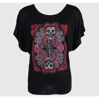 Majica ženska BLACK MARKET - Gabe Londis - Queen Od Hearts, BLACK MARKET