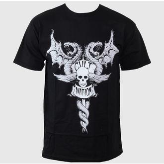 Majica muška CVLT NACIJA - Sudbina Grad - Crno, CVLT NATION