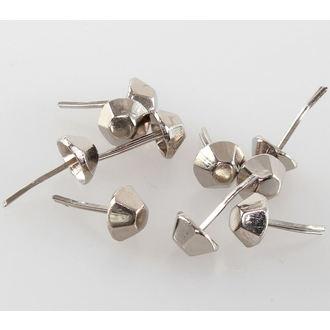 češeri metalni - 10ks, BLACK & METAL