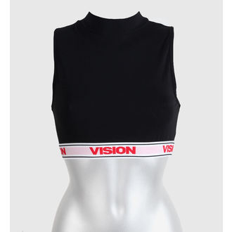 Potkošulja ženska  VISION  - Usjev Turtleneck - Crno, VISION