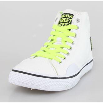 Cipele ženske VISION - Canvas HI - Bijelo / Sigurnosno Žut, VISION