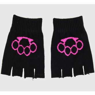 rukavice prstiju Magija - Black / Pink
