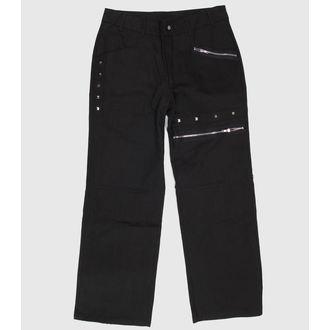 hlače muške - EVIL - Crno, NECESSARY EVIL