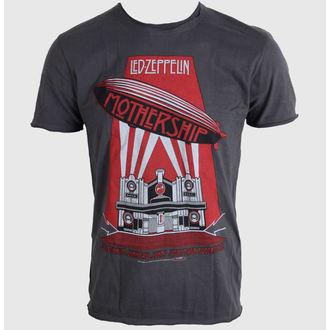 Majica muška AMPLIFIED - Led Zeppelin - Mothership - Ugljenasto, AMPLIFIED, Led Zeppelin