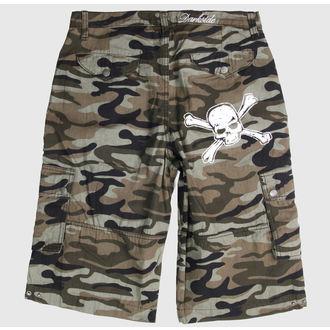 kratke hlače Darkside - Crno, DARKSIDE