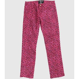 Hlače ženske COLLECTIF - Pink