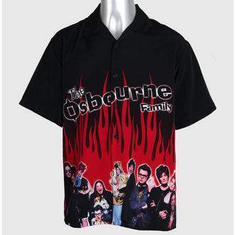 košulja muška Ozzy Osbourne - Obitelj - Crno, Ozzy Osbourne