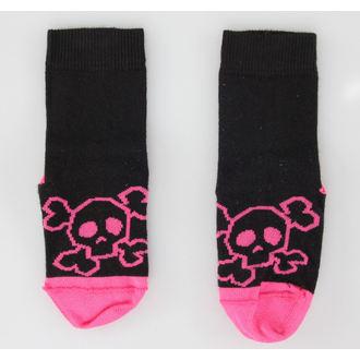 dječje Čarape KOŽA HEAVEN - Pink Skull, NNM
